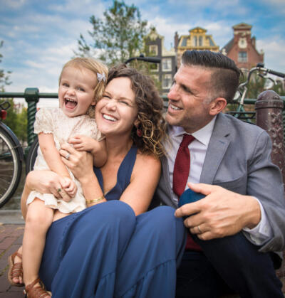 on location family photoshoot Familie fotosessie Amsterdam