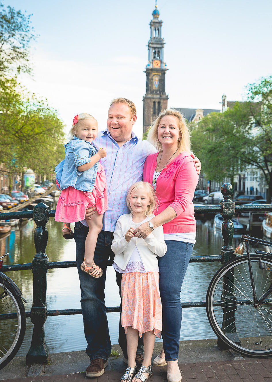 on location family photoshoot in Amsterdam Familie fotosessie